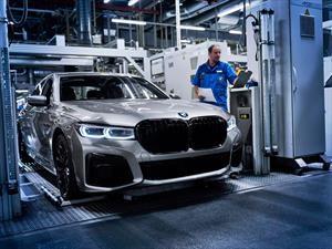 Inicia la producción del nuevo BMW Serie 7 2020