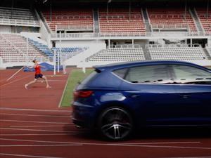 Video: SEAT León Cupra pone a prueba sus capacidades atléticas
