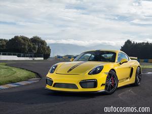 Porsche Cayman GT4 2016: A prueba