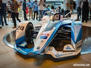 Formula E: BMW i Andretti Motorsport ya pisa suelo chileno