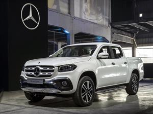 Mercedes-Benz Clase X 2018, el nuevo pick up de lujo