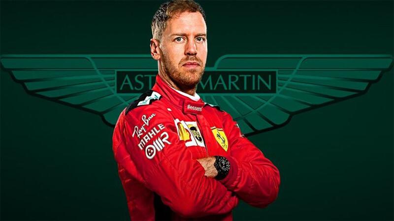 F1: Sebastian Vettel ya es piloto Aston Martin
