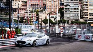 El Rapide eléctrico de Aston Martin debuta en Mónaco