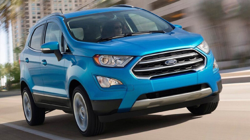 Ford EcoSport podría comenzar a llegar desde Turquía e India para mantenerse en la oferta