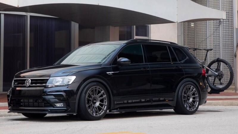Jamie Orr presenta la exclusiva Volkswagen Tiguan SE R-Line Black RiNo Concept