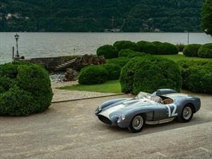 Una Ferrari 335 S de 1958, victoriosa en Villa d'Este