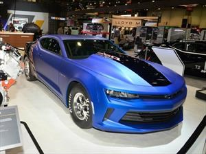 Chevrolet Camaro galardonado como el Hottest Coupe del SEMA 2017