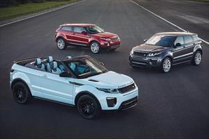 Los cinco años del Range Rover Evoque