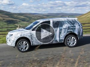 Video: Land Rover Discovery Sport se prepara para su debut