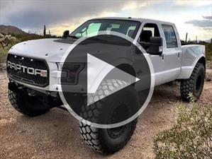 Video: MegaRaptor y SuperRaptor, dos pick-ups de locos