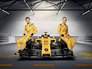 Estos son los colores oficiales de Renault F1 para 2016