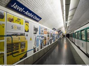 Citroën remodela una estación de Metro que lleva su nombre