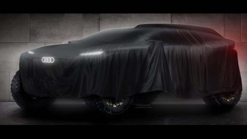 Dakar: Audi usará los motores eléctricos que desarrolló en la Fórmula E