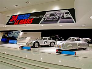 Porsche expone su historia en las 24 horas de Le Mans