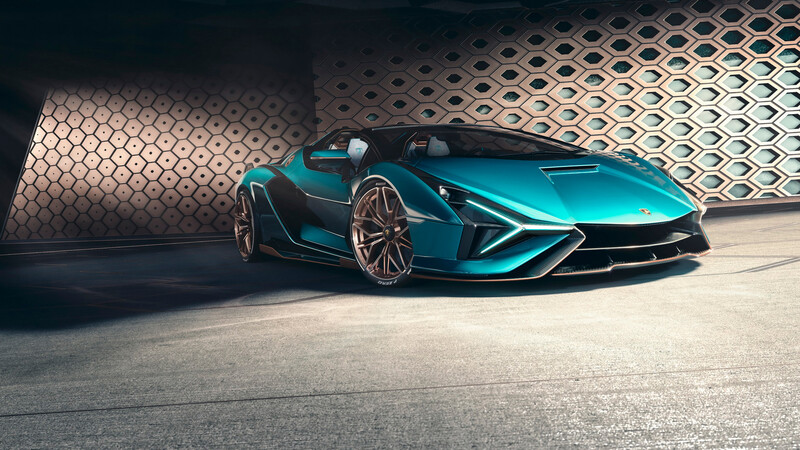 Lamborghini Sian Roadster, el descapotable más poderoso