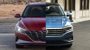 Hyundai Elantra vs Volkswagen Jetta, promesa contra experiencia