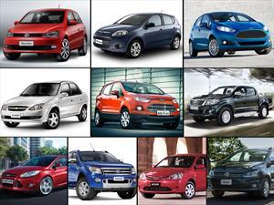 Top 10 los autos más vendidos de Argentina en mayo de 2015