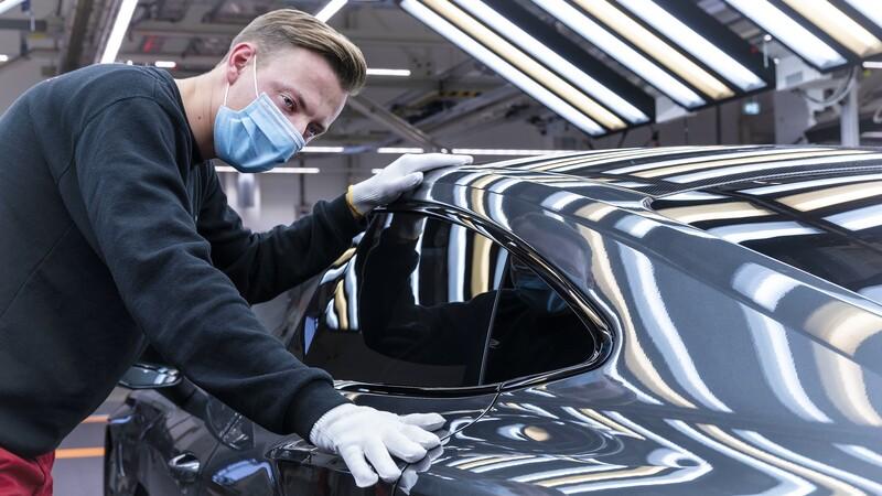 Audi RS e-tron GT se produce en Alemania