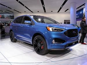 Ford Edge ST 2019, además de bonita es rápida