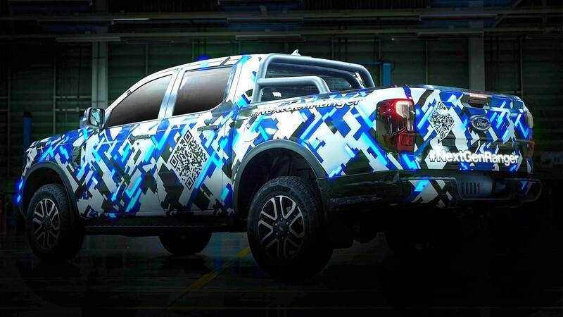 Ford sigue desnudando a la Ranger 2023 en un nuevo video