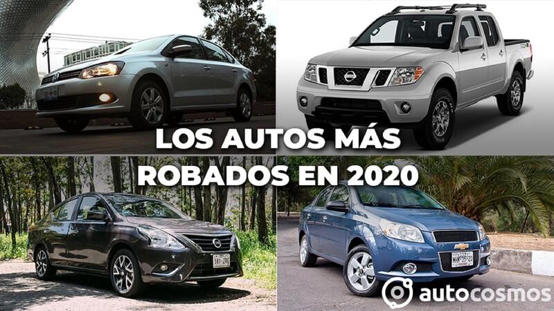 Los vehículos más robados en México durante 2020