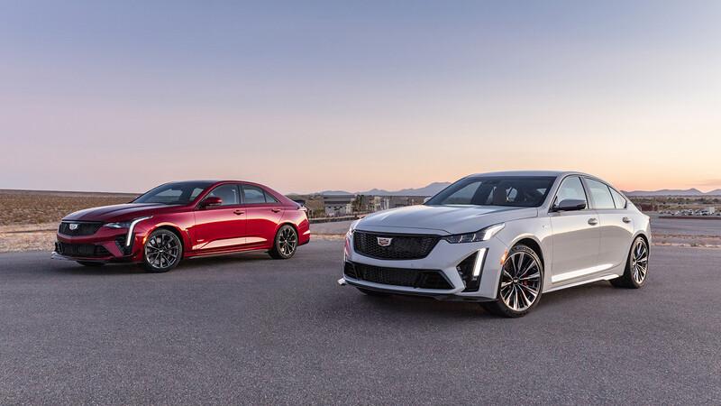Cadillac CT4-V y CT5-V Blackwing se presentan