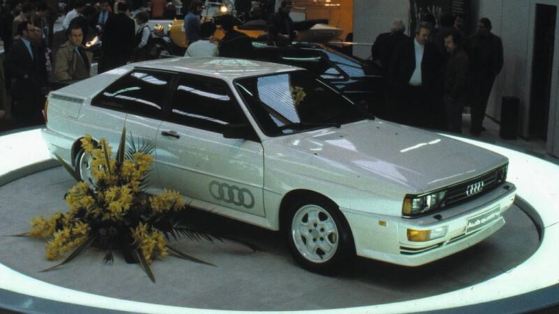 40 datos y 40 imágenes de los 40 años de la tracción quattro de Audi
