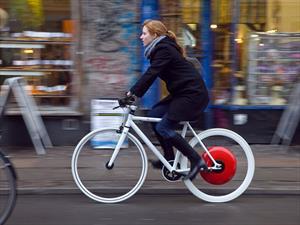 Copenhagen Wheel, la forma de hacer eléctrica a tu bicicleta