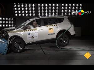 Toyota Rav4 obtiene 5 estrellas en pruebas de choque de Latin NCAP