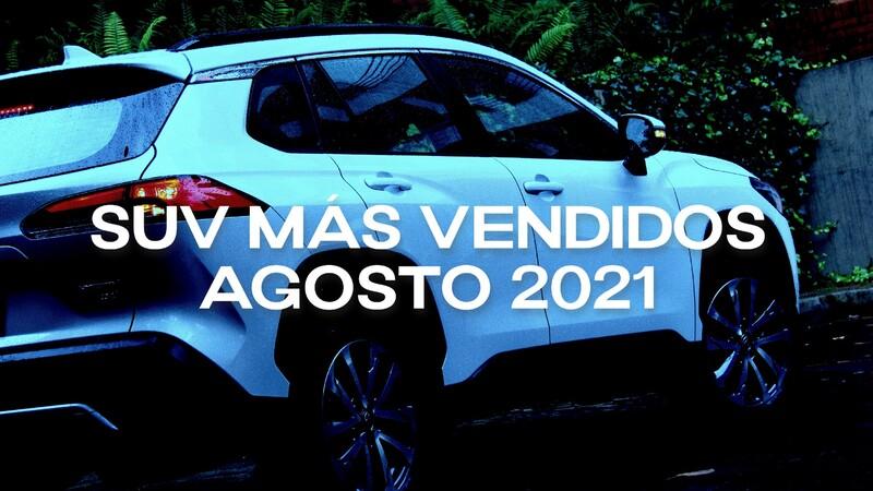 SUV más vendidos en Colombia en agosto de 2021