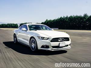 Prueba nuevo Ford Mustang en pista
