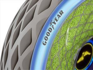 Goodyear presenta curiosos prototipos ecológicos de neumáticos