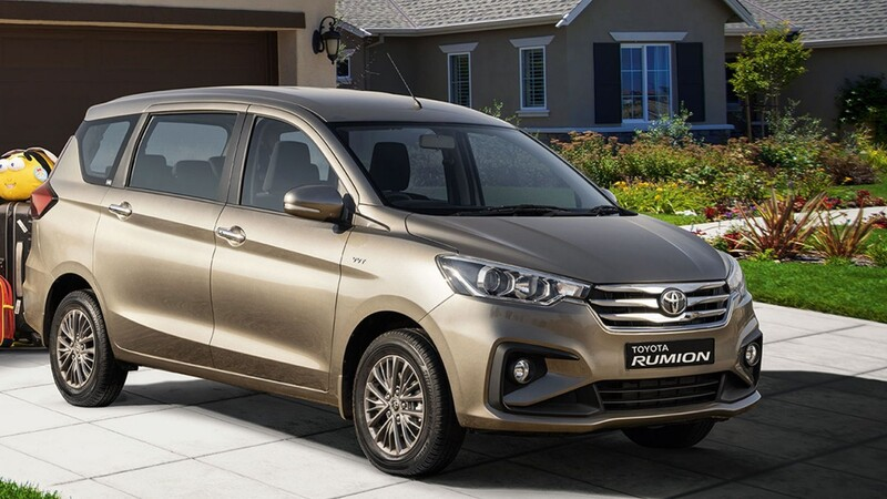 Toyota Rumion 2022, ¿una nueva Avanza basada en la Suzuki Ertiga?