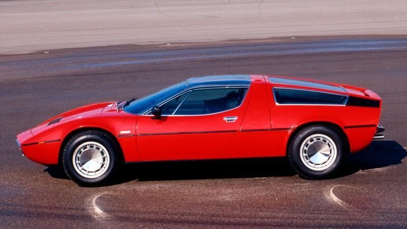 Maserati Bora: Bodas de oro para el primer modelo con motor central de la marca italiana