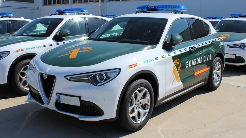 Alfa Romeo Stelvio es la nueva patrulla de la Guardia Civil de España