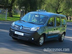Renault Kangoo ZE, cerca de ser el primer vehículo 100% eléctrico del país