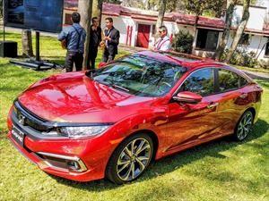 Honda Civic 2019 llega a México con ligeros cambios estéticos