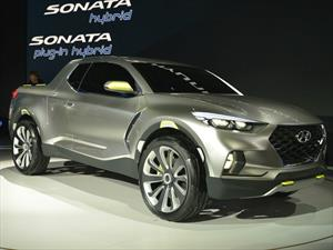 Hyundai Santa Cruz Crossover Truck Concept, un pick up vanguardista