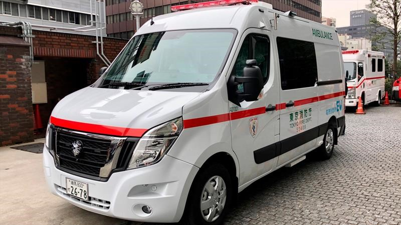Esta ambulancia de Nissan no contamina