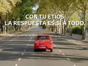 """""""Sí a todo"""", la nueva campaña de Toyota Etios"""