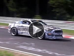 Video: Ford Mustang SVT 2016 corre en Nürburgring