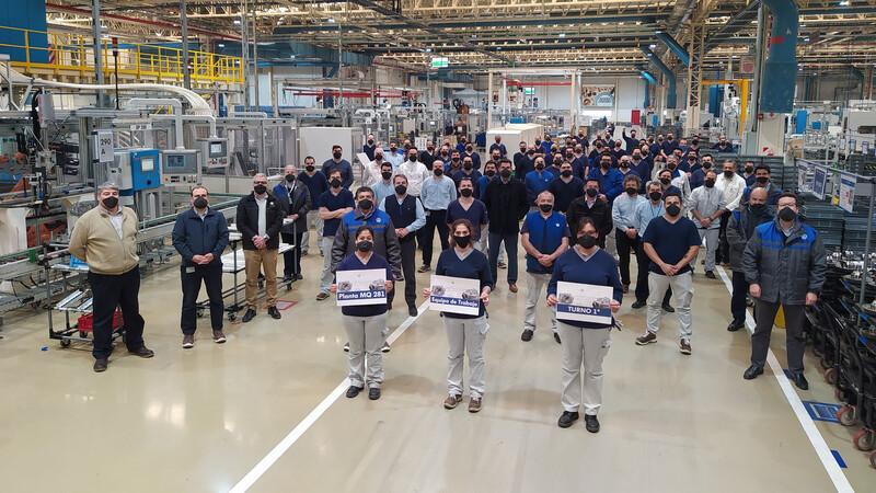 Volkswagen Argentina ya exportó más de 10.000 transmisiones MQ281