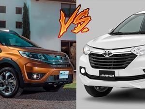 Honda BR-V vs Toyota Avanza