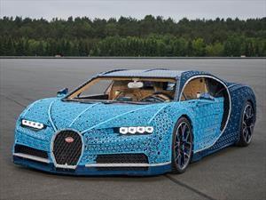 Bugatti Chiron by Lego ¡Qué juguete!