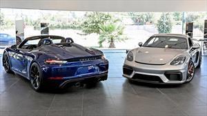 Porsche 718 Cayman GT4 y 718 Spyder 2020 debutan en Chile con motor aspirado de 4 litros y 420 Hp