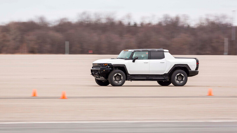 GMC Hummer HV 2022 ya está siendo sometida a pruebas extremas