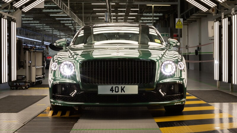 Bentley registra 40,000 unidades producidas del Flying Spur
