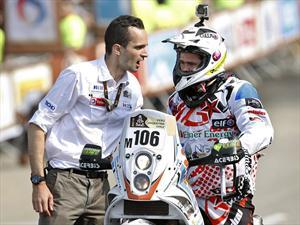 Luto en el Rally Dakar 2013