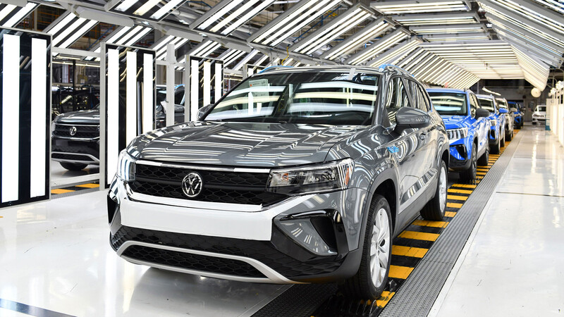 Volkswagen de México inicia la producción del Taos como modelo de exportación