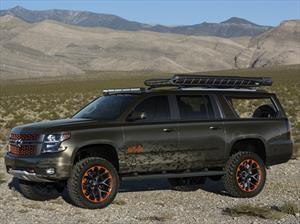 Chevrolet Luke Bryan Suburban Concept, una SUV ideal para salir